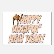 Happy Humpin New Year 2014 Hump Day Camel Postcard