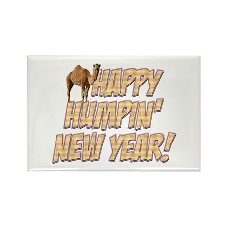 Happy Humpin New Year 2014 Hump Day Camel Magnets