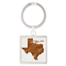 Valley Mills, Texas (Search Any Ci Square Keychain