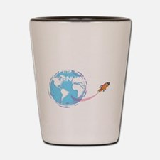 i dont want to live on this planet Shot Glass