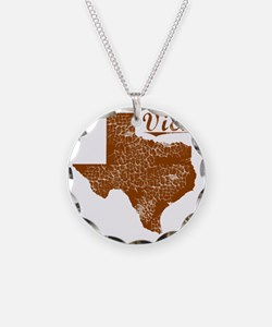 Vick, Texas (Search Any City Necklace