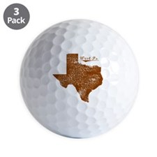 West Point, Texas (Search Any City!) Golf Ball