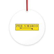 Per S. Marco, Venice (IT) Ornament (Round)