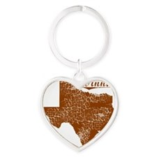 Winnie, Texas (Search Any City!) Heart Keychain