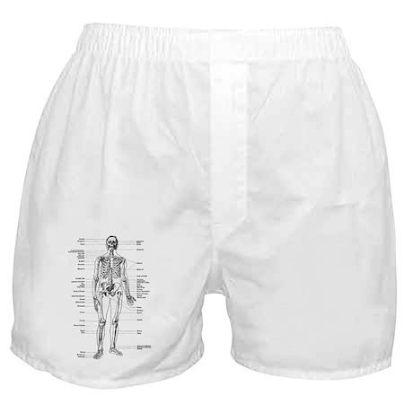 labeled skeleton Boxer Shorts