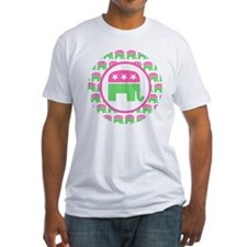 Pink and Green Republican Shirt