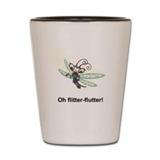 Flitter-flutter! Shot Glass