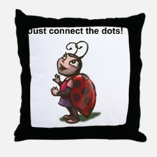 Connect Dots Throw Pillow