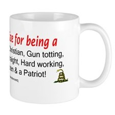 Never Apologize Mug