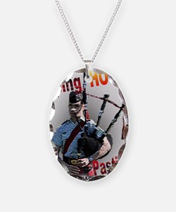 Play the Bagpipes Necklace