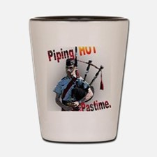 Play the Bagpipes Shot Glass