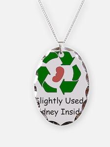 Slighty Used Kidney Inside Necklace