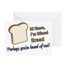 Sliced Bread Greeting Card