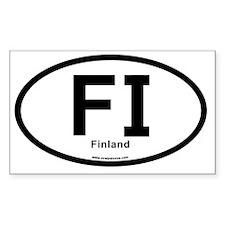 FI - Finland Oval Decal