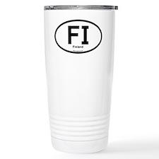 FI - Finland Oval Travel Mug