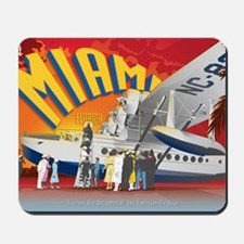 Pan American Base Miami Large Mousepad