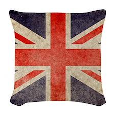 Pillow Faded UK Woven Throw Pillow