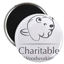 Charitable Woodworking Magnet