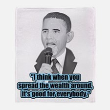 Spread the Wealth Throw Blanket