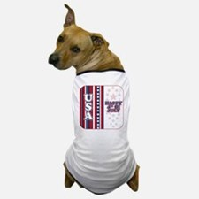 usaHappy4 Dog T-Shirt