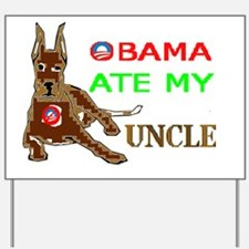 THE DOG EATER Yard Sign