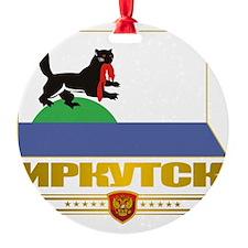 Irkutsk Flag Ornament