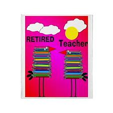 ff ret teacher 2 Throw Blanket