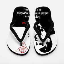 aleister-crowley-repeal-laws-mankind-ca Flip Flops
