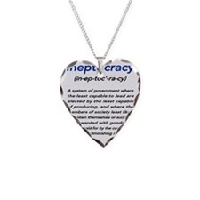 ineptocra Necklace Heart Charm