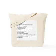 You might be a NICU nurse if.... Tote Bag