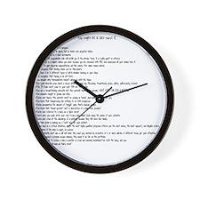 You might be a NICU nurse if.... Wall Clock