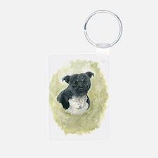 Stafforshire Bull Terrier Keychains
