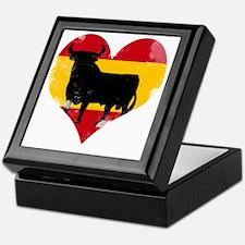The Spanish Bull, El Toro de España Keepsake Box
