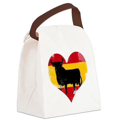 The Spanish Bull, El Toro de Espa Canvas Lunch Bag