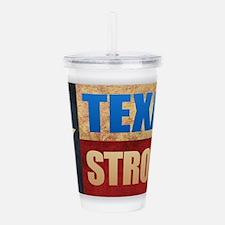 Texas Strong Acrylic Double-wall Tumbler