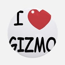 I heart Gizmo Round Ornament