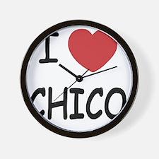 I heart Chico Wall Clock