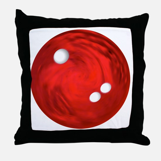 Bowling Ball Car Magnet Throw Pillow