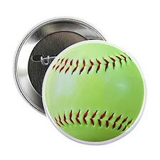 "Softball Gift Car Magnet 2.25"" Button"