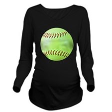 Softball Gift Car Ma Long Sleeve Maternity T-Shirt