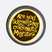 coconuts migrate Wall Clock