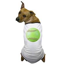Softball Gift Car Magnet Dog T-Shirt