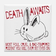 death awaits Tile Coaster