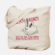 death awaits Tote Bag