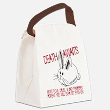 death awaits Canvas Lunch Bag