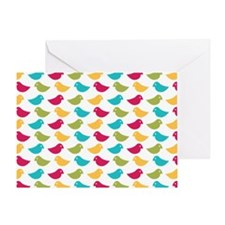 Birdy Greeting Card