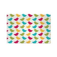 Birdy Rectangle Magnet