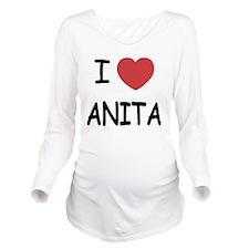 I heart Anita Long Sleeve Maternity T-Shirt