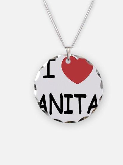 I heart Anita Necklace
