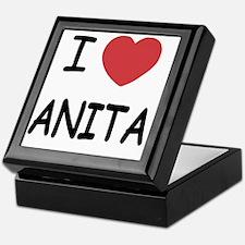 I heart Anita Keepsake Box